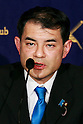 Shibayama special advisor to PM Shinzo Abe speaks at FCCJ