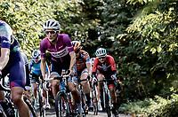 Lizzie Deignan (GBR/Trek-Segafredo) up the Baneberg<br /> <br /> 9th Gent-Wevelgem in Flanders Fields 2020<br /> Elite Womens Race (1.WWT)<br /> <br /> One Day Race from Ypres (Ieper) to Wevelgem 141km<br /> <br /> ©kramon