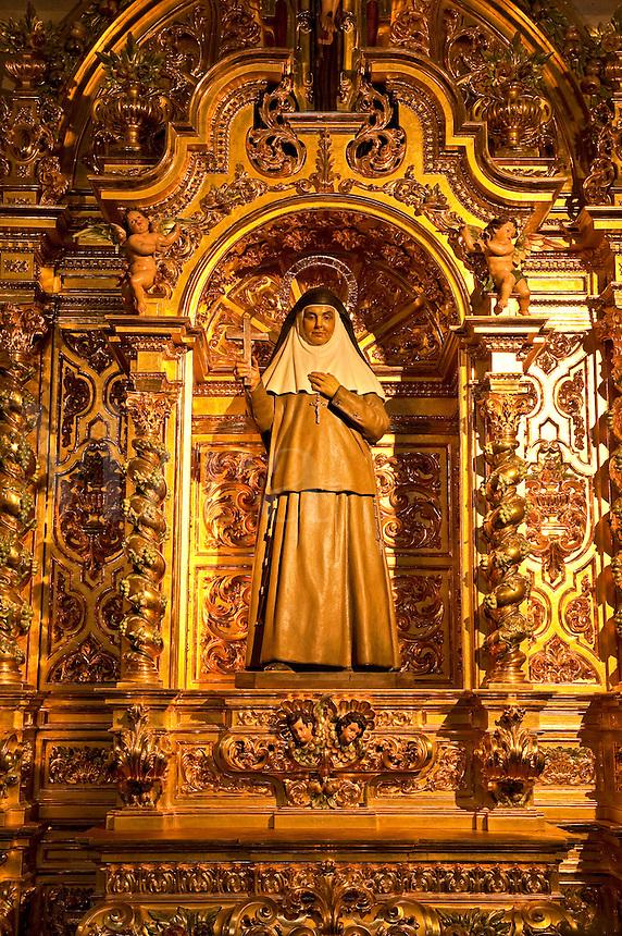 Chapel within the Catedral de la Almudena, Madrid, Spain