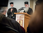 Symposium on the life of Bishop Mardarije at Holy Resurrection Serbian Orthodox Church, Chicago.<br /> <br /> Dinner, debut of the film on the life of Bishop St. Mardarije and keynote address: Saint Mardarije: Wonderous is God in his Saints presented by His Eminence Metropolitan Amphiloije and translated by Bishop Irinej