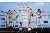 #7 Acura Team Penske Acura DPi, DPi: Helio Castroneves, Ricky Taylor, Juan Pablo Montoya and Dane Cameron celebrate in Victory Circle
