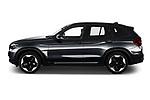 Driver side profile view of a 2021 BMW iX3 Impressive 5 Door SUV