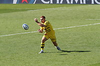 2nd May 2021; Stade Marcel-Deflandre, La Rochelle, France. European Champions Cup Rugby La Rochelle versus Leinster Semi-Final;  10 Ihaia WEST of STADE ROCHELAIS passes along his line