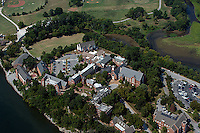 aerial photograph Baylor School, Chattanooga, Tennessee