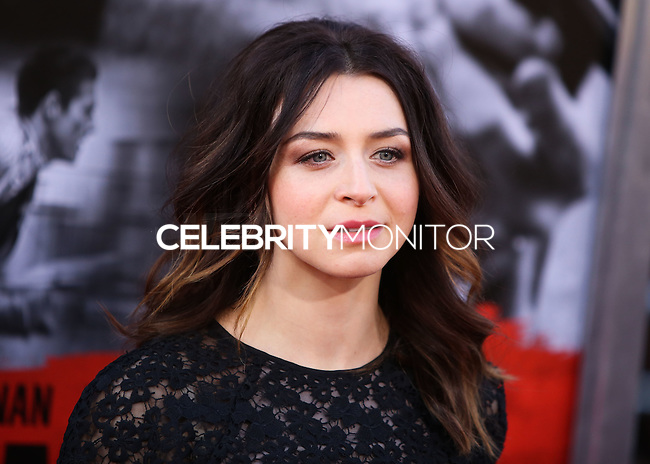 HOLLYWOOD, LOS ANGELES, CA, USA - AUGUST 13: Caterina Scorsone at the World Premiere Of Relativity Media's 'The November Man' held at the TCL Chinese Theatre on August 13, 2014 in Hollywood, Los Angeles, California, United States. (Photo by Xavier Collin/Celebrity Monitor)