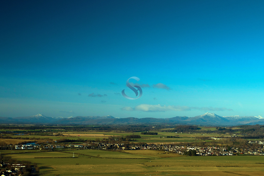 The Southern Highlands from the Wallace Monument, Stirling, Stirlingshire