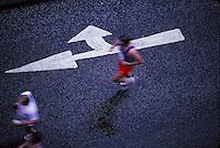 Marathon runner<br />