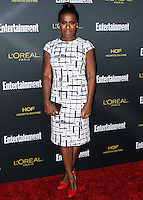 WEST HOLLYWOOD, CA, USA - AUGUST 23: Uzo Aduba arrives at the 2014 Entertainment Weekly Pre-Emmy Party held at the Fig & Olive on August 23, 2014 in West Hollywood, California, United States. (Photo by Xavier Collin/Celebrity Monitor)