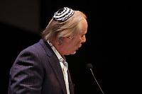September 24, 2013 -Aaron Rand, JCHOM-CJAD Radio<br /> attend the Centaur Theater 45th annual fundraiser Gala wearing a kippa.