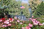 War memorial in Rose Park in Missoula, Montana