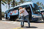 First Tourists Arrive From Germany In Mallorca During The Coronavirus Pandemic.