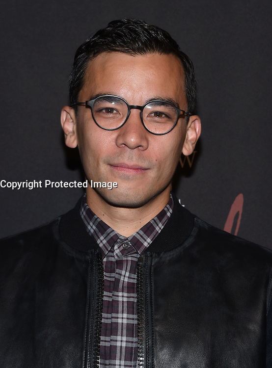 Conrad Ricamora @ the 'How To Get Away With Murder' Season 3 Premiere held @ the Grove Pacific theatre. September 20, 2016