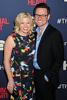 """NEW YORK CITY, NY, USA - MAY 12: Megan Hilty at the New York Screening Of HBO's """"The Normal Heart"""" held at the Ziegfeld Theater on May 12, 2014 in New York City, New York, United States. (Photo by Celebrity Monitor)"""