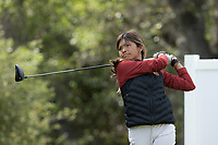 STANFORD, CA - APRIL 24: Brianna Navarrosa at Stanford Golf Course on April 24, 2021 in Stanford, California.