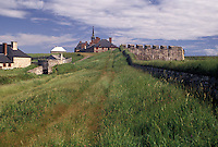 fort, fortress, Cape Breton, Nova Scotia, NS, Canada, Atlantic Ocean, Fortress of Louisbourg National Historic Site on Cape Breton Island in Nova Scotia.