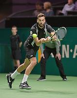 Rotterdam, The Netherlands, Februari 8, 2016,  ABNAMROWTT, Benoit Paire (FRA)<br /> Photo: Tennisimages/Henk Koster