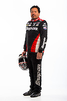 Jan 16, 2013; Palm Beach Gardens, FL, USA; NHRA funny car driver Cruz Pedregon poses for a portrait. Mandatory Credit: Mark J. Rebilas-