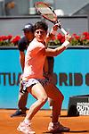 Carla Suarez Navarro, Spain, during Madrid Open Tennis 2016 match.May, 3, 2016.(ALTERPHOTOS/Acero)