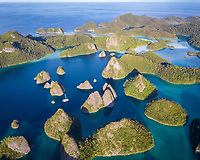 coral reef, Wayag Islands, Pulau Wayag, Raja Ampat Islands, West Papua, Indonesia, Indo-Pacific Ocean