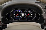 Instrument panel close up detail view of a 2008 Infiniti M35