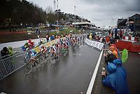 start!<br /> <br /> Elite Women's race<br /> UCI 2016 cyclocross World Championships