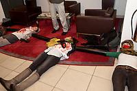 20.11.2012 - Activists against G4S
