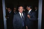 MIKHAIL GORBACIOV<br /> COCKTAIL PARTY N ONORE DI GORBACIOV - HOTEL BAGLIONI ROMA 11-2000