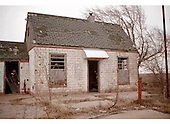 Route 66 Abandoned Gasoline Station Ruin