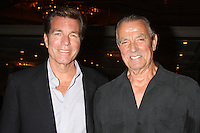 "LOS ANGELES - AUG 15:  Peter Bergman, Eric Braeden at the ""The Young and The Restless"" Fan Club Event at the Universal Sheraton Hotel on August 15, 2015 in Universal City, CA"