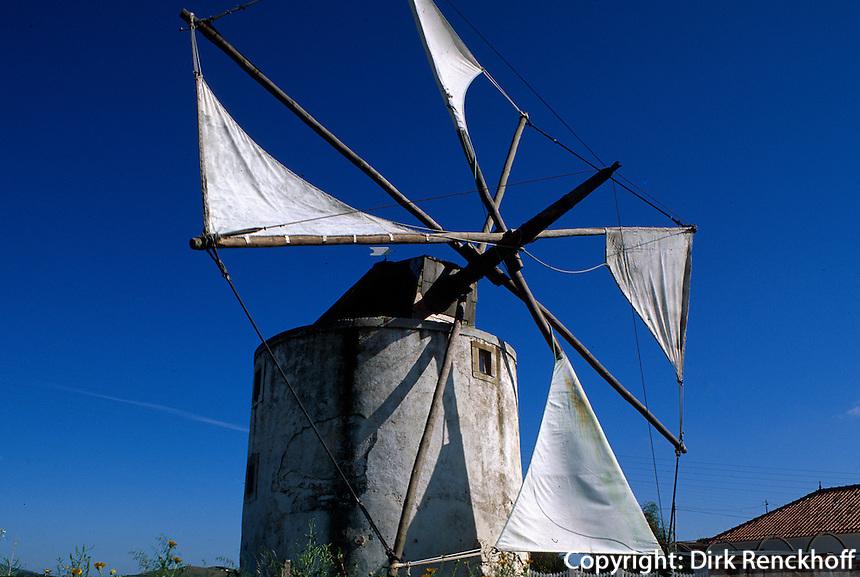 Portugal, Windmühle in der Estremadura