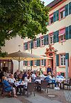 Germany, Baden-Wurttemberg, Offenburg: café Gmeiner at old town | Deutschland, Baden-Wuerttemberg, Offenburg: groesste Stadt im Ortenaukreis - Café Gmeiner in der Altstadt