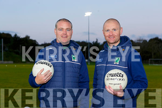 Kerry Ladies managers Declan Quill and Darragh Long