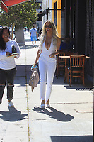 Lindsey Pelas Out in Beverly Hills For Lunch