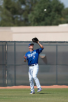 Kansas City Royals left fielder Brewer Hicklen (7) during a Minor League Spring Training game against the Milwaukee Brewers at Maryvale Baseball Park on March 25, 2018 in Phoenix, Arizona. (Zachary Lucy/Four Seam Images)