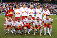 New York Red Bulls Starting Eleven. DC United defeated the New York Red Bulls 3-1 at RFK Stadium in Washington DC, Thursday August  22, 2007.