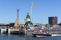 Hafen in Klaipeda, Litauen, Europa