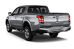 Car pictures of rear three quarter view of 2017 Fiat Fullback Sport Pack 4 Door Pick Up angular rear