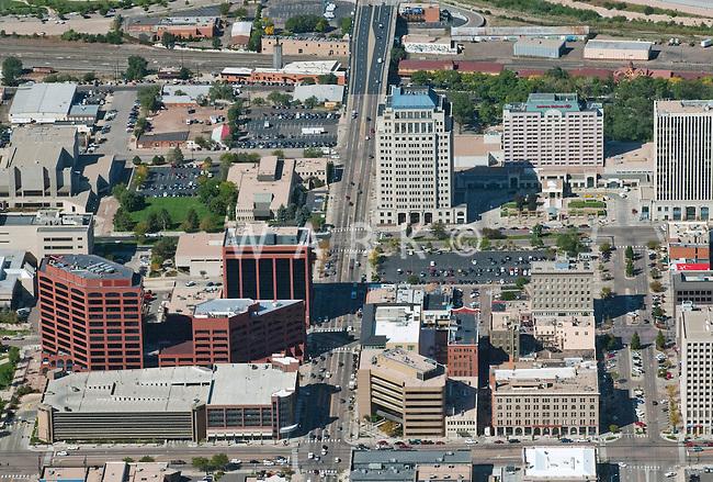 Aerial of Colorado Springs