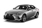 2018 Lexus IS 300 4 Door Sedan angular front stock photos of front three quarter view
