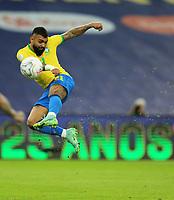 10th July 2021, Estádio do Maracanã, Rio de Janeiro, Brazil. Copa America tournament final, Argentina versus Brazil;  Gabriel Barbosa of Brazil