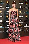 Aura Garrido attends the Feroz Cinema Awards 2015 at Las Ventas, Madrid,  Spain. January 25, 2015.(ALTERPHOTOS/)Carlos Dafonte)