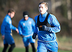 St Johnstone Training….27.12.16<br />Blair Alston pictured in training this morning at McDiarmid Park with Callum Davidson ahead of tomorrow's game against Rangers<br />Picture by Graeme Hart.<br />Copyright Perthshire Picture Agency<br />Tel: 01738 623350  Mobile: 07990 594431