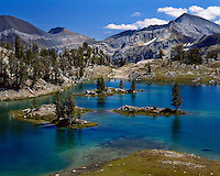 Glacier Lake in the Eagle Cap Wilderness; Wallowa-Whitman National Forest, OR