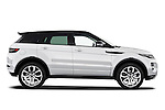 Passenger side profile view of a 2011 Land Rover Range Rover Evoque SUV ..