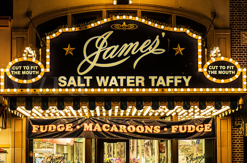 James Salt Water Taffy, Atlantic City, New Jersey, USA