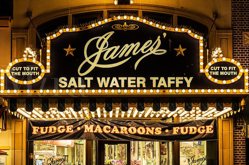James Salt Water Taffy, Atlantic City, New Jersey, USA