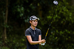Jin Hee Park of South Korea tees off during the first round of the EFG Hong Kong Ladies Open at the Hong Kong Golf Club Old Course on May 11, 2018 in Hong Kong. Photo by Marcio Rodrigo Machado / Power Sport Images
