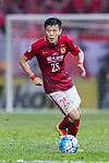 Guangzhou Defender Zou Zheng in action during the AFC Champions League 2017 Group G match between Eastern SC (HKG) vs Guangzhou Evergrande FC (CHN) at the Mongkok Stadium on 25 April 2017, in Hong Kong, China. Photo by Chung Yan Man / Power Sport Images