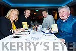 Judges on a break - from the3 Lip Sync Battle in the Sea Lodge, Waterville for the Michael Curran Rehabilitation Fund were l-r; Cllr. Norma Moriarty, Colm Cooper, Maurice Fitzgerald & Mick O'Dwyer.