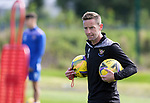 St Johnstone Training...<br />Coach Steven MacLean pictured during training ahead of tomorrow nights Premier Sports Cup quarter final against Dundee<br />Picture by Graeme Hart.<br />Copyright Perthshire Picture Agency<br />Tel: 01738 623350  Mobile: 07990 594431